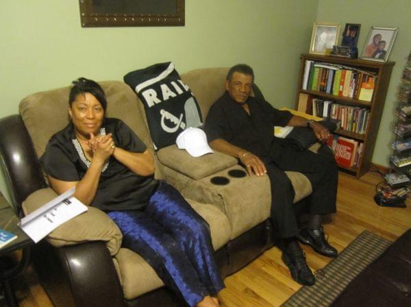 Aaron Ammons' parents