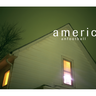 American Football album cover of the house in Urbana, IL.