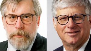 Doug Finke, Bernie Schoenburg