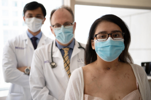 Mayra Ramirez and her doctors.