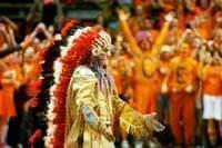 Chief Illiniwek dancing