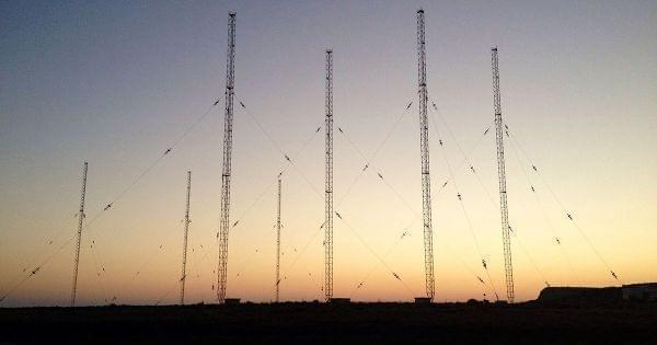 digital broadcasting towers