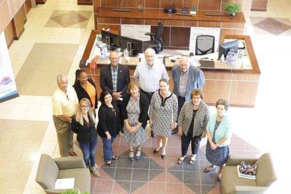group photo of WILL Community Advisory Committee