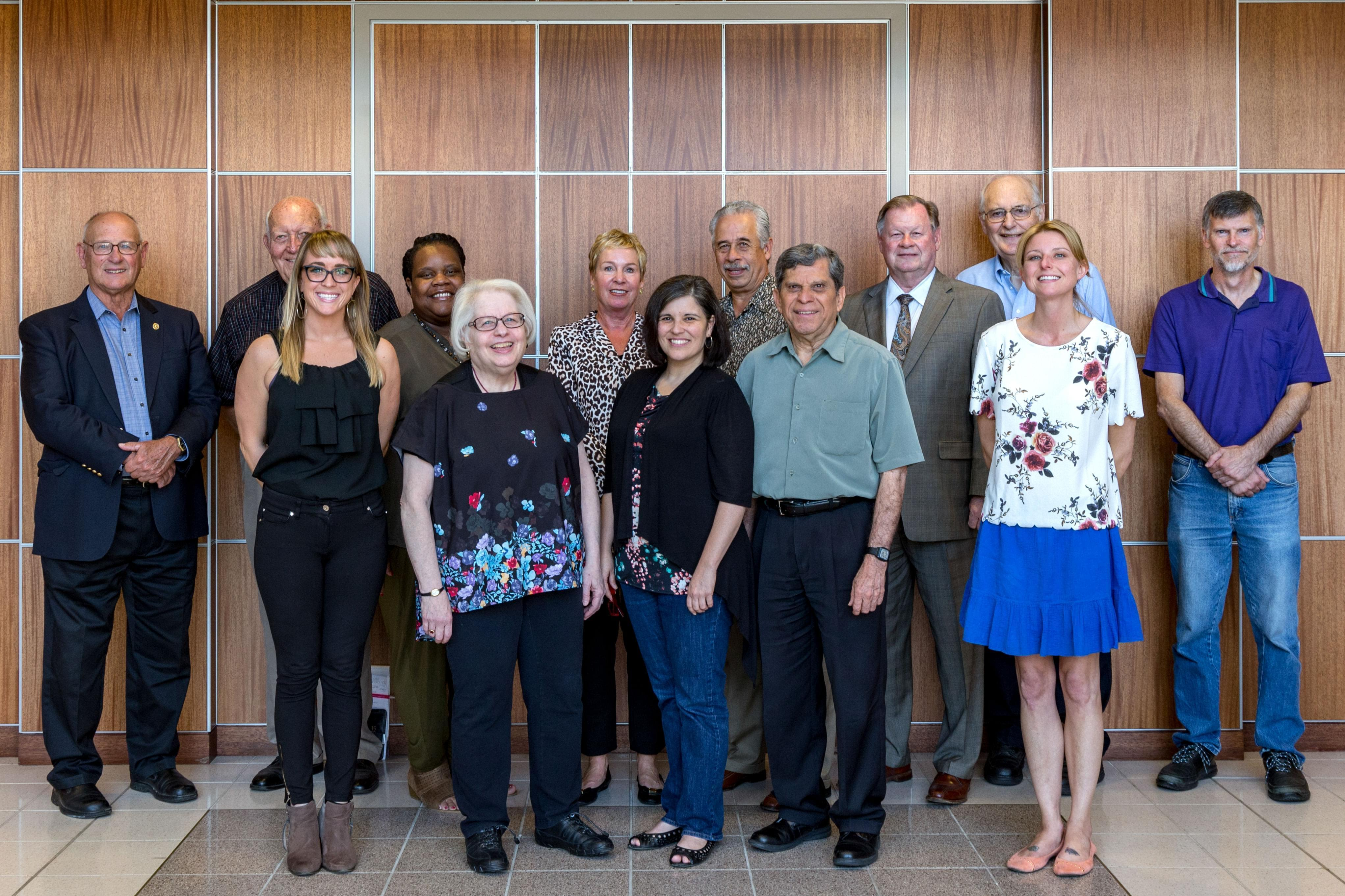group photo of WILL Community Advisory Committee