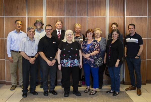 group photo of WILL Advisory Committee