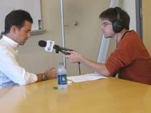 Jack Dorsey speaking with WILL's Sean Powers