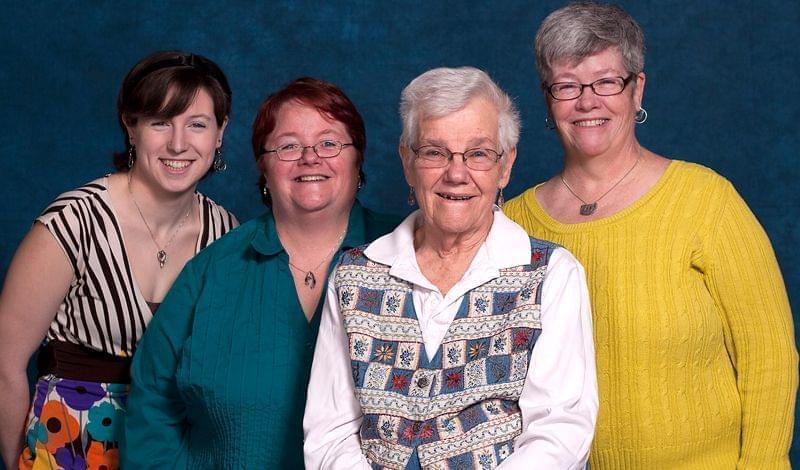 Maureen Henry, Colleen Nolan-Grob, Rose Nolan, Kathy Nolan Henry