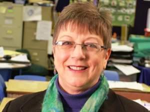 head and shoulders shot of Elizabeth Slifer