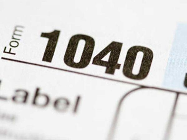 Form 1040 Close-Up