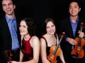 Jupiter String Quartet with instruments