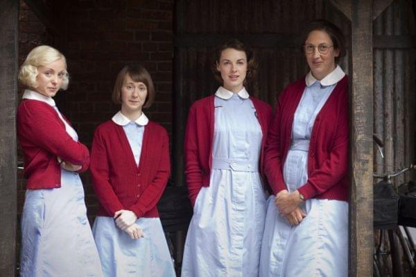 The midwives of Call the Midwife.