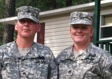 Staff Sgt. Donna Johnson and Staff Sgt.Tracy