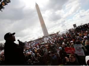 The Forward on Climate Rally in Washington, D.C.