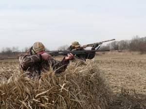 Hunters Mike Blaske Scott Early,