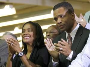 Jesse Jackson Jr. and Sandi Jackson
