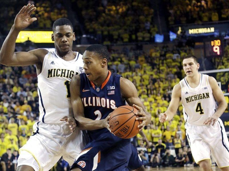 Illinois, Michigan game