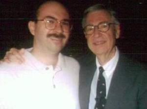 David Thiel and Fred Rogers.