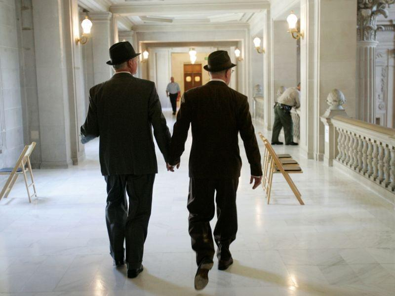 California same-sex couple gets married