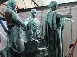 Alma Mater restoration