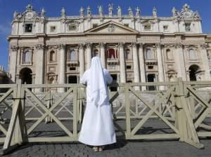 Cardinals begin their conclave to choose next pope.