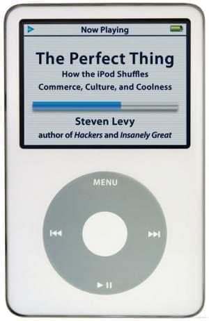 iPod displaying the title The Perfect Thing