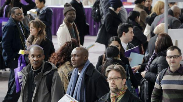 Job fair in New York