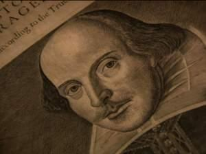 William Shakespeare in old print