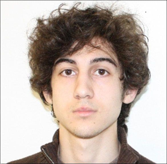 A new photo of suspect-at-large Dzhokar Tsarnaev has been released by the FBI: