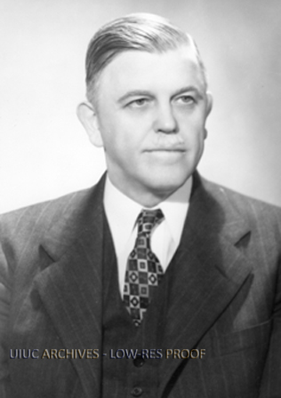 Vice President, University of Illinois at Urbana-Champaign (ca. 1950)