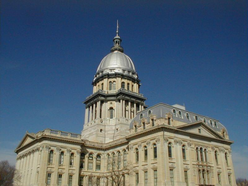 The Illinois State Capitol in Springfield, Ill.