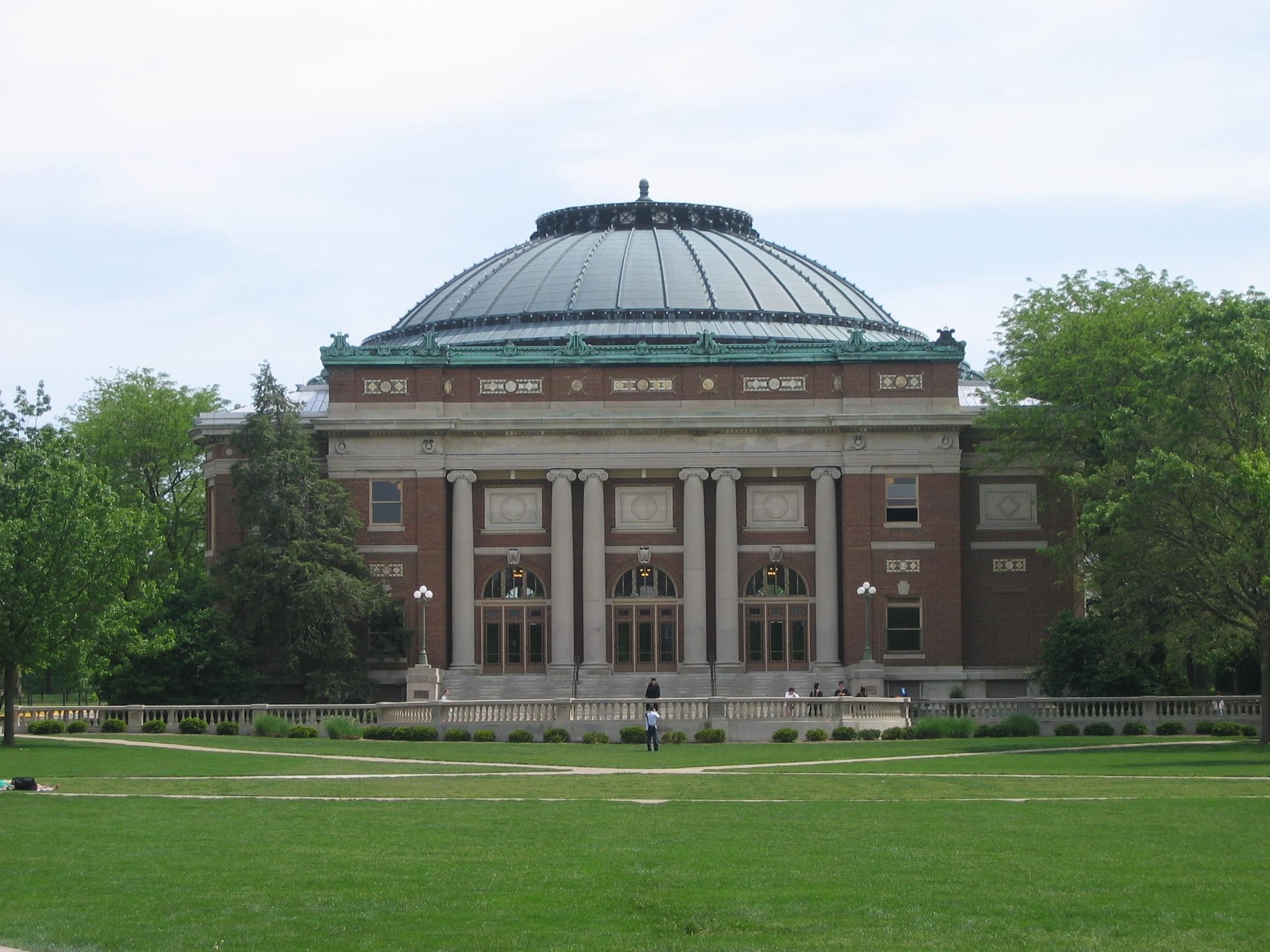 Foellinger Auditorium at the University of Illinois at Urbana-Champaign.