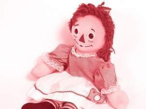 Photo of a Raggedy Ann doll