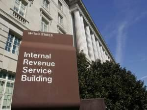 The Internal Revenue Service building in Washington, DC.