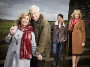 The cast of Last Tango in Halifax.