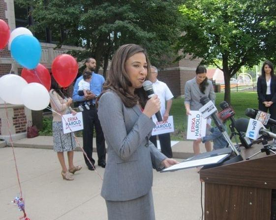Erika Harold running for Congress