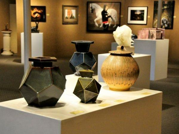 pots entered into the 2009 64 Arts contest