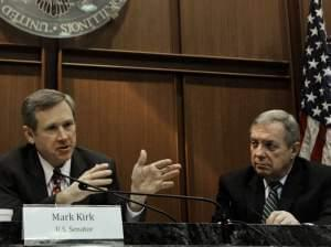 Mark Kirk and Dick Durbin
