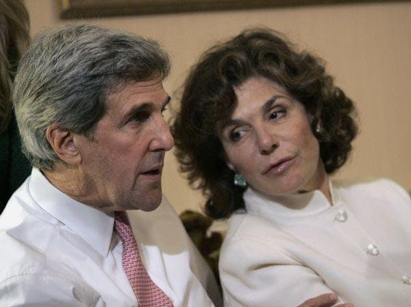 John Kerry and Teresa Heinz Kerry