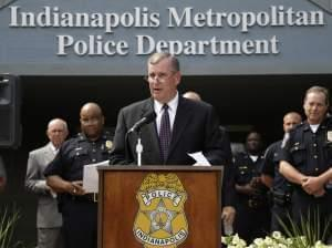 Indianapolis Mayor Greg Ballard