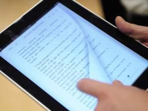 iPad made by Apple