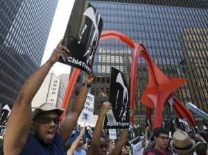 Justice for Trayvon rally in Chicago