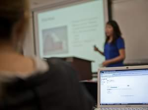 A class at the University of Illinois at Springfield.
