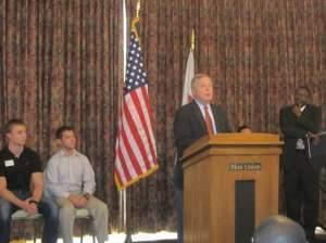 U.S. Senator DIck Durbin at the University of Illinois