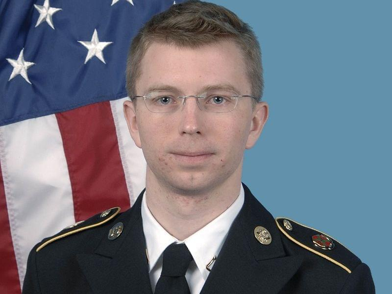 U.S. Army Pfc. Bradley Manning