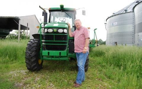 Jim Schulte and his wife, Rita, bought their 450-acre farm in 1991, but didn't start farming full time until Jim finished working in the mortgage business.