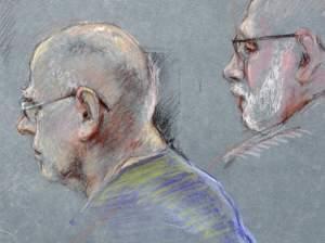 "James ""Whitey"" Bulger coutroom sketch"