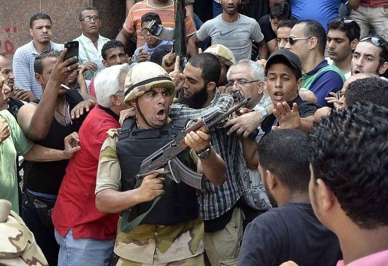 Egyptian standoff