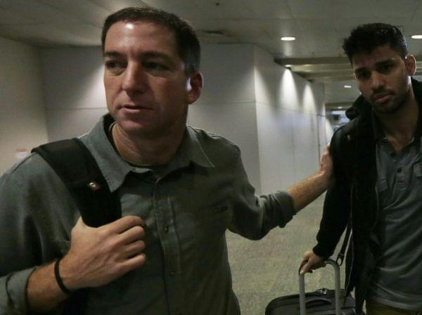 Glenn Greenwald and David Miranda