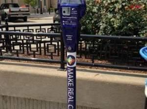 Make Real Change parking meter