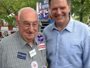 Joe Hendrick and Senator Bill Brady